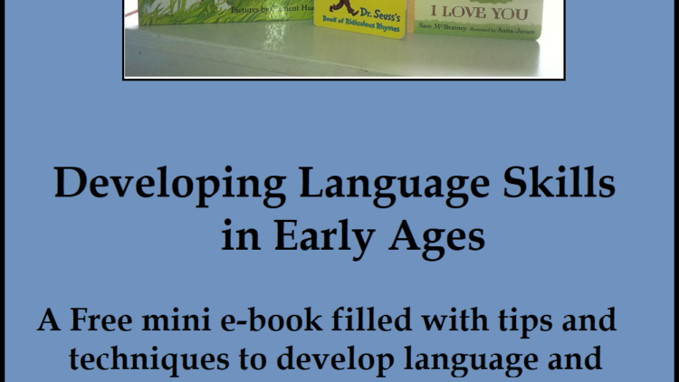 Developing Language Skills in your Homeschool During the Early Years