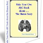human body homeschool unit study notebooking pages