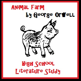 Animal Farm High School Literary Novel Study