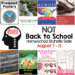 Not Back to School Homeschool Bundle Sale!